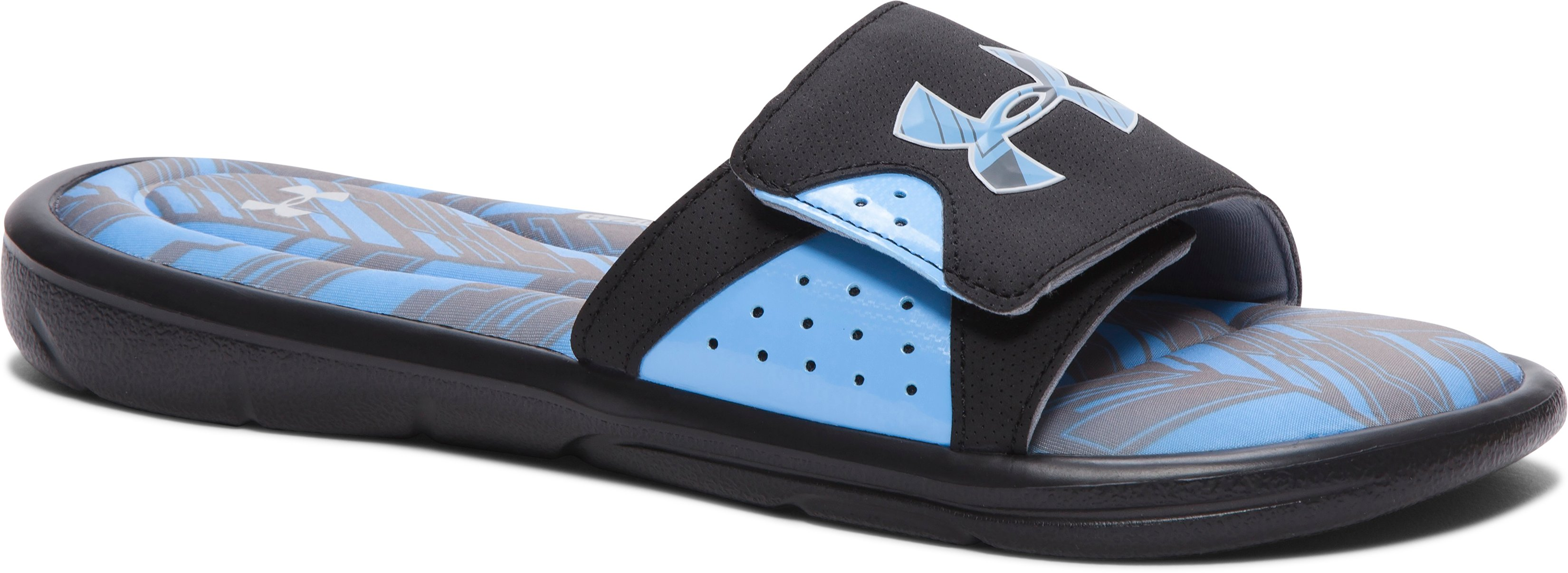 Men's UA Ignite Banshee II Slides, Black ,