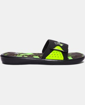 Men's UA Ignite Banshee II Slides  2 Colors $37.99