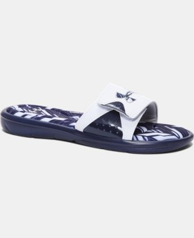 Men's UA Ignite Banshee II Slides  1 Color $37.99