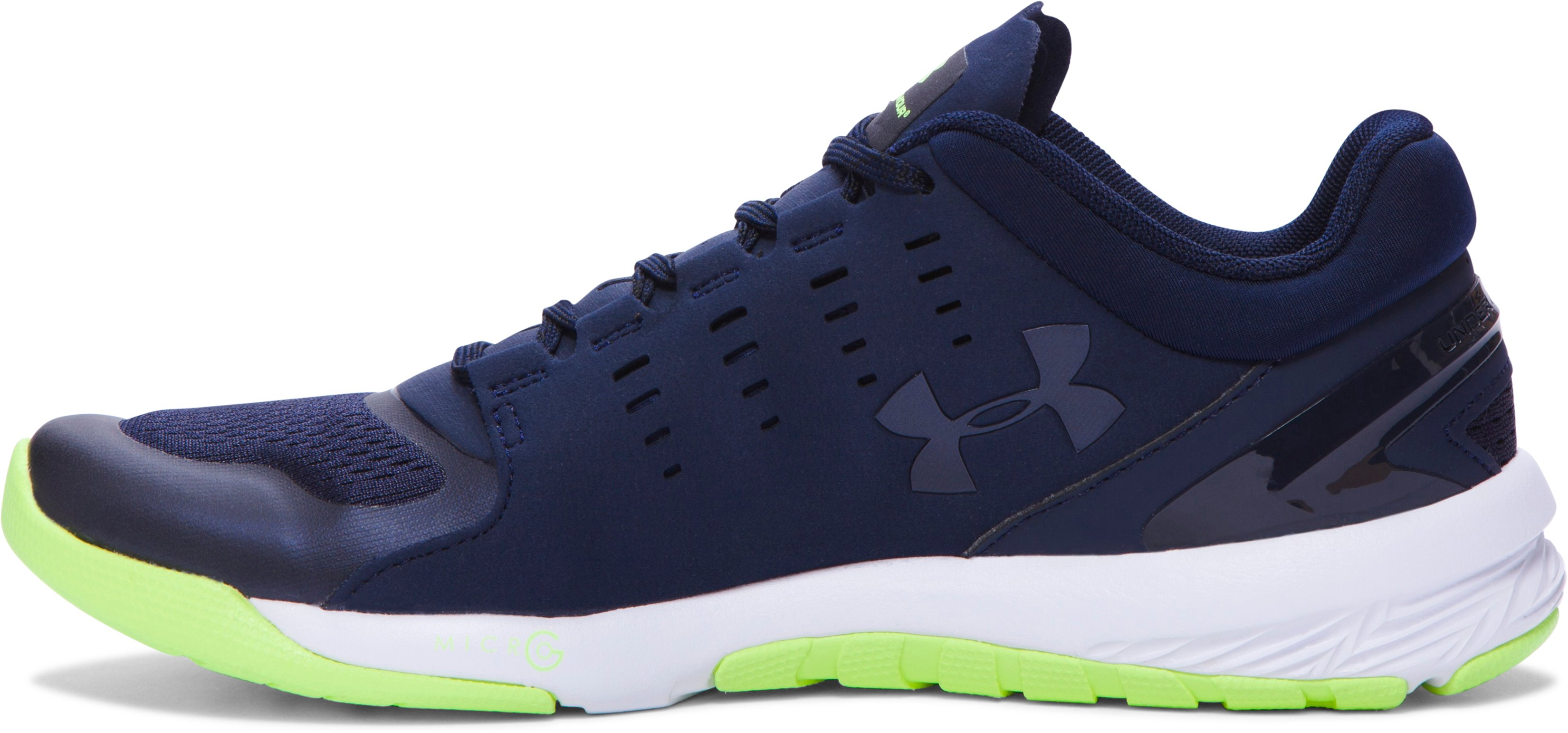 Women's UA Charged Stunner Training Shoes, Midnight Navy