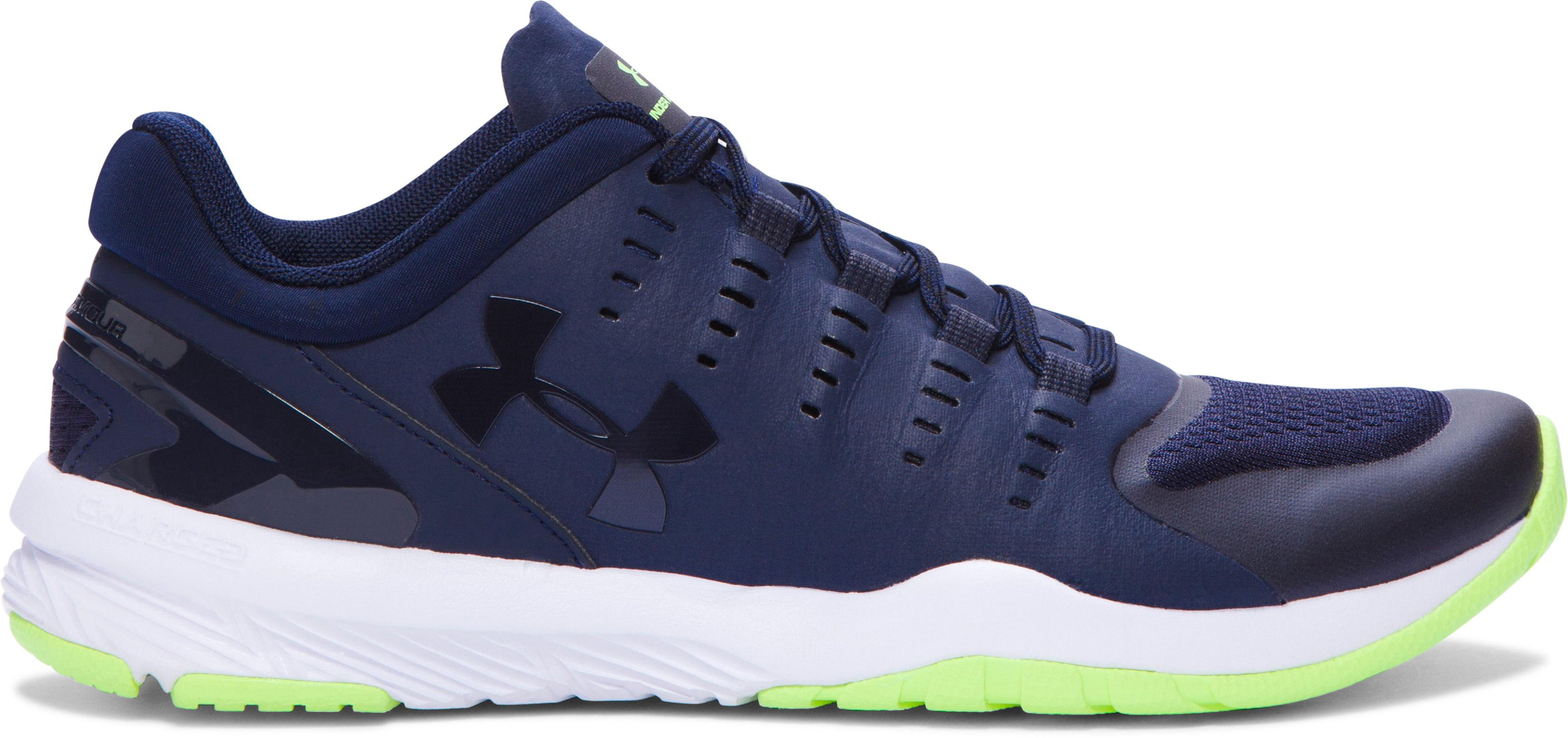 Women's UA Charged Stunner Training Shoes, Midnight Navy, zoomed image