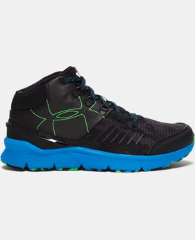 Boys' Grade School UA Overdrive Mid Grit Running Shoes   $89.99