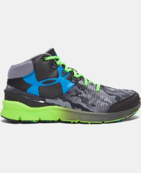 Boys' Grade School UA Overdrive Mid Grit Running Shoes