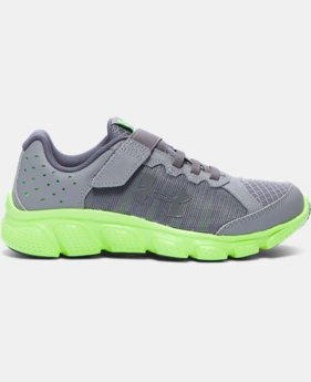 Boys' Pre-School UA Assert 6 Running Shoes LIMITED TIME OFFER 4 Colors $41.24