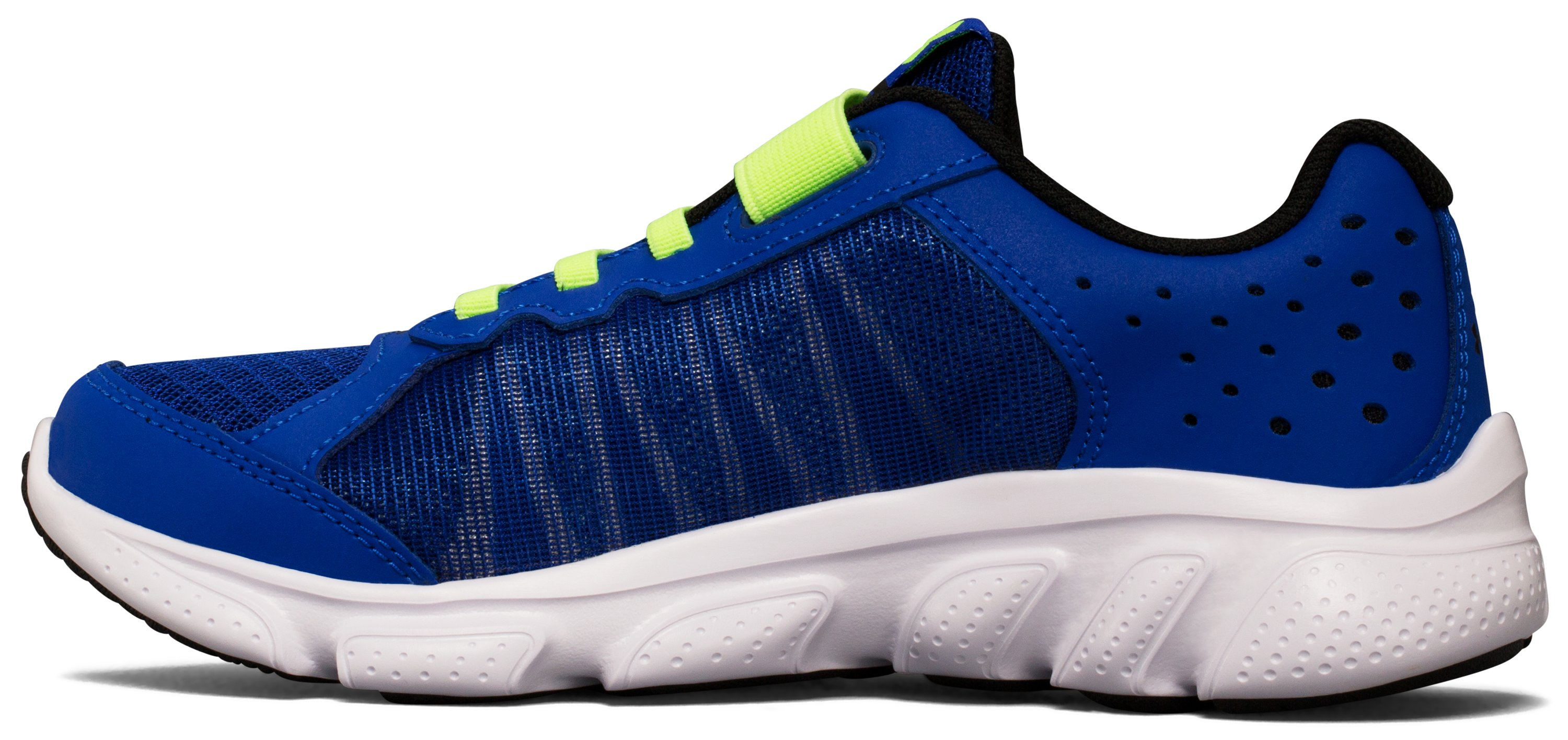 Boys' Pre-School UA Assert 6 Running Shoes, Royal, undefined