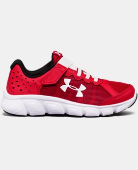 Boys' Pre-School UA Assert 6 Running Shoes LIMITED TIME OFFER 4 Colors $38.99