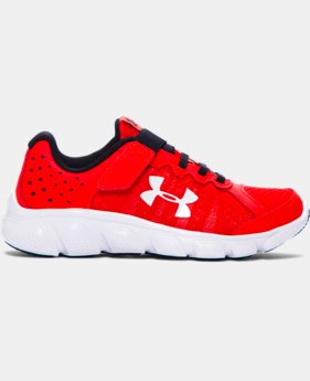 Boys' Pre-School UA Assert 6 AC Running Shoes LIMITED TIME: FREE SHIPPING 4 Colors $54.99