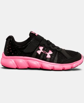 Girls' Pre-School UA Assert 6 AC Running Shoes LIMITED TIME OFFER  $38.99