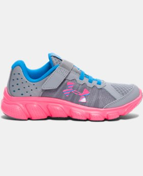Girls' Pre-School UA Assert 6 AC Running Shoes   $51.99