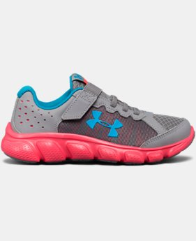 Girls' Pre-School UA Assert 6 AC Running Shoes   $41.24