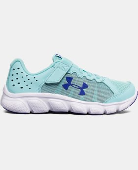 Girls' Pre-School UA Assert 6 AC Running Shoes LIMITED TIME OFFER 1 Color $38.99
