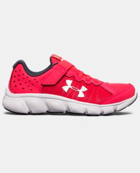Girls' Pre-School UA Assert 6 AC Running Shoes LIMITED TIME OFFER 2 Colors $38.99