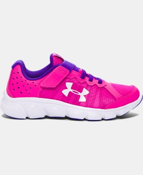 Girls' Pre-School UA Assert 6 AC Running Shoes