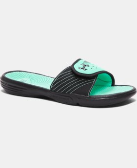 Women's UA Micro G® EV II Slides LIMITED TIME: FREE SHIPPING 3 Colors $26.99