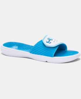 Women's UA Micro G® EV II Slides LIMITED TIME: FREE SHIPPING  $22.99