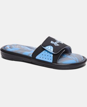 Boys' UA Ignite Banshee II Slides  3 Colors $39.99