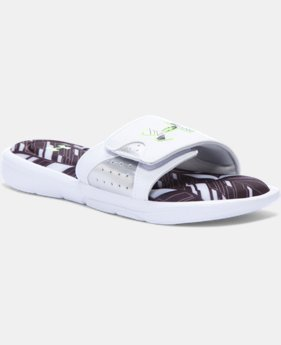 Boys' UA Ignite Banshee II Slides   $31.99