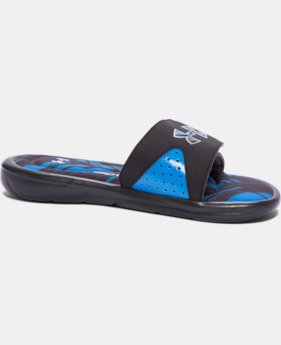 Boys' UA Ignite Banshee II Slides