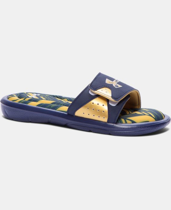 Boys' UA Ignite Banshee II Slides LIMITED TIME: FREE SHIPPING 1 Color $17.99 to $23.99