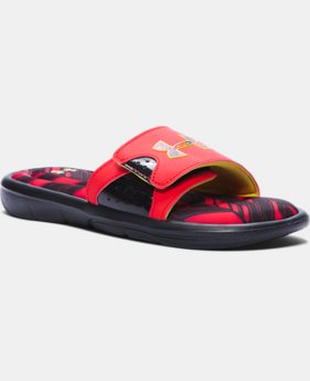 Boys' UA Ignite Banshee II Slides  1 Color $39.99