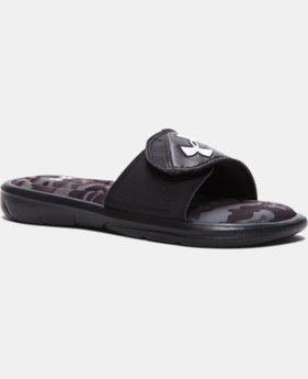 Boys' UA Mercenary VII Slides  1 Color $29.99