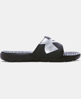 Boys' UA Strike Reflective Slides  1 Color $24.99