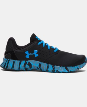 Boys' Grade School UA Flow Camo Running Shoes