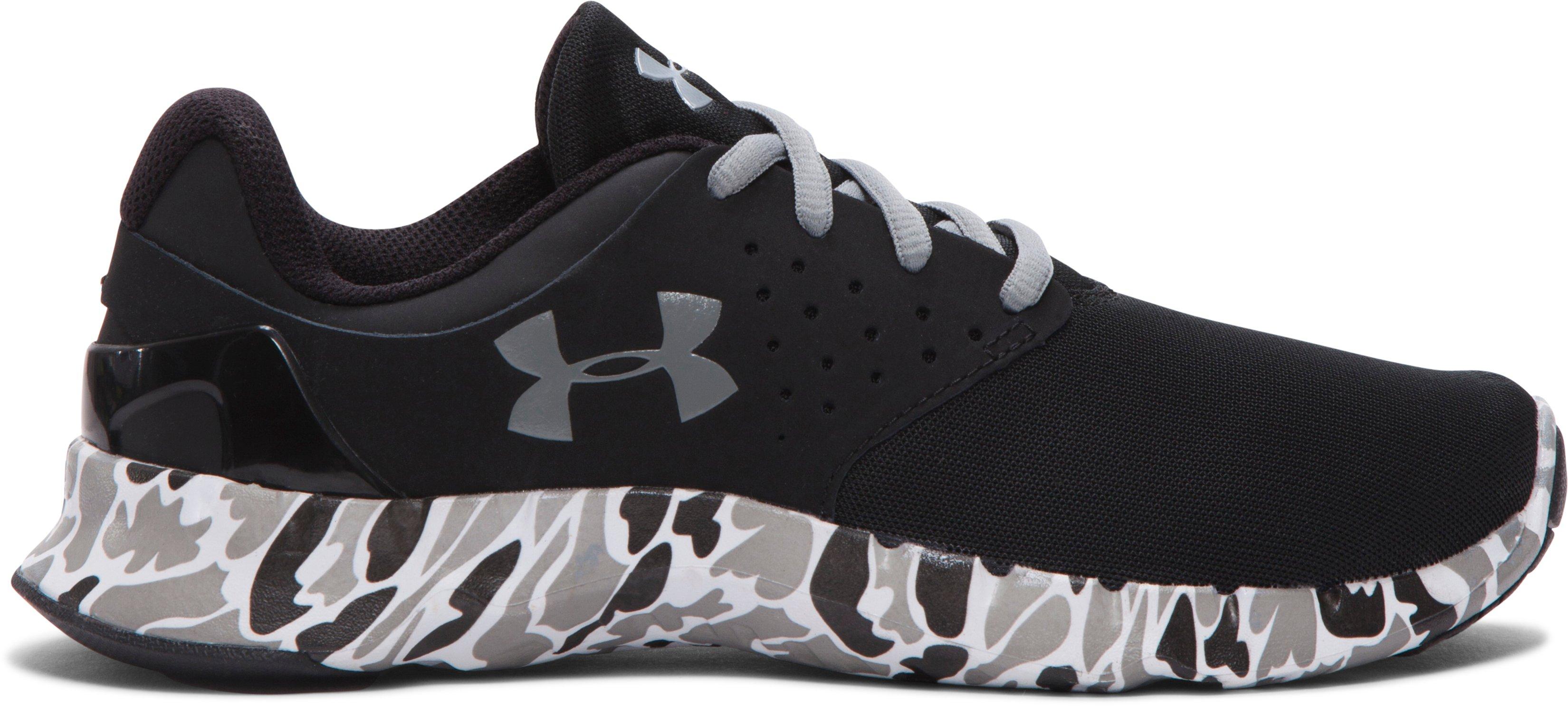 Under Armour Boys Grade School UA Flow Camo Running Shoes