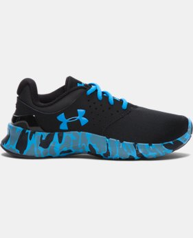 New Arrival  Boys' Pre-School UA Flow Camo Running Shoes   $69.99