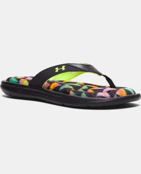 Girls' UA Marbella Flow Sandals  1 Color $34.99