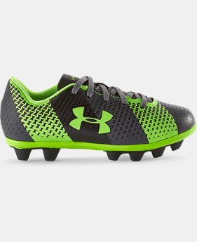 Kids' UA CF Force HG Jr. Soccer Cleats