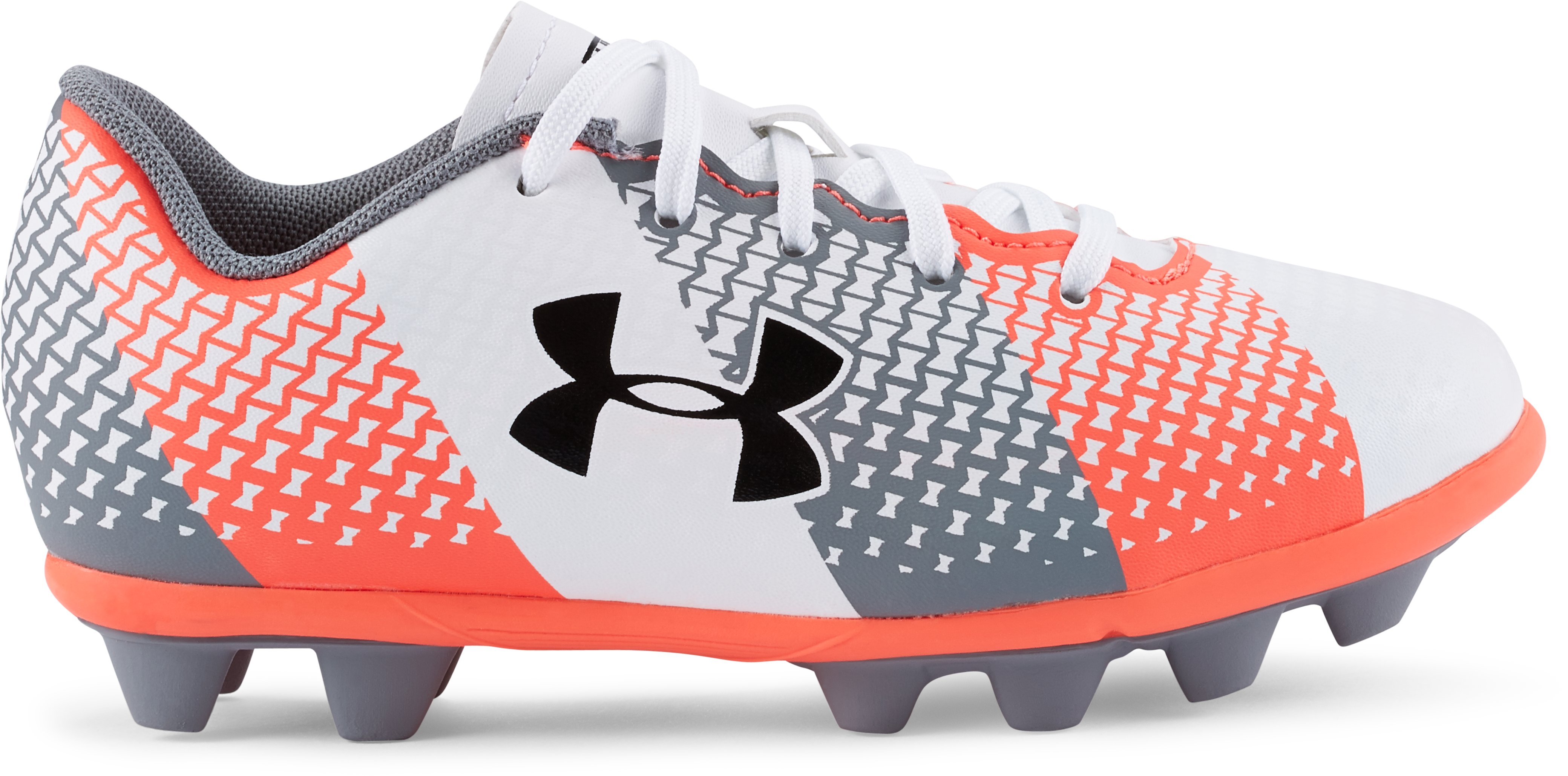 Kids' UA CF Force HG Jr. Soccer Cleats | Under Armour US