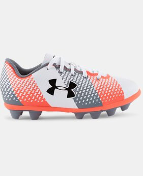 Kids' UA CF Force HG Jr. Soccer Cleats   $22.99