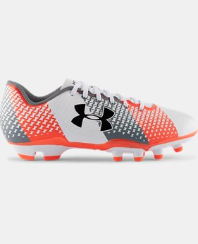 Kids' UA CF Force FG Jr. Soccer Cleats