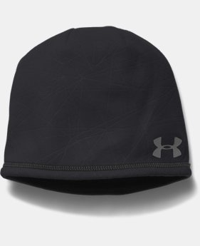 Men's UA ColdGear® Infrared Emboss Run Beanie  1 Color $20.99