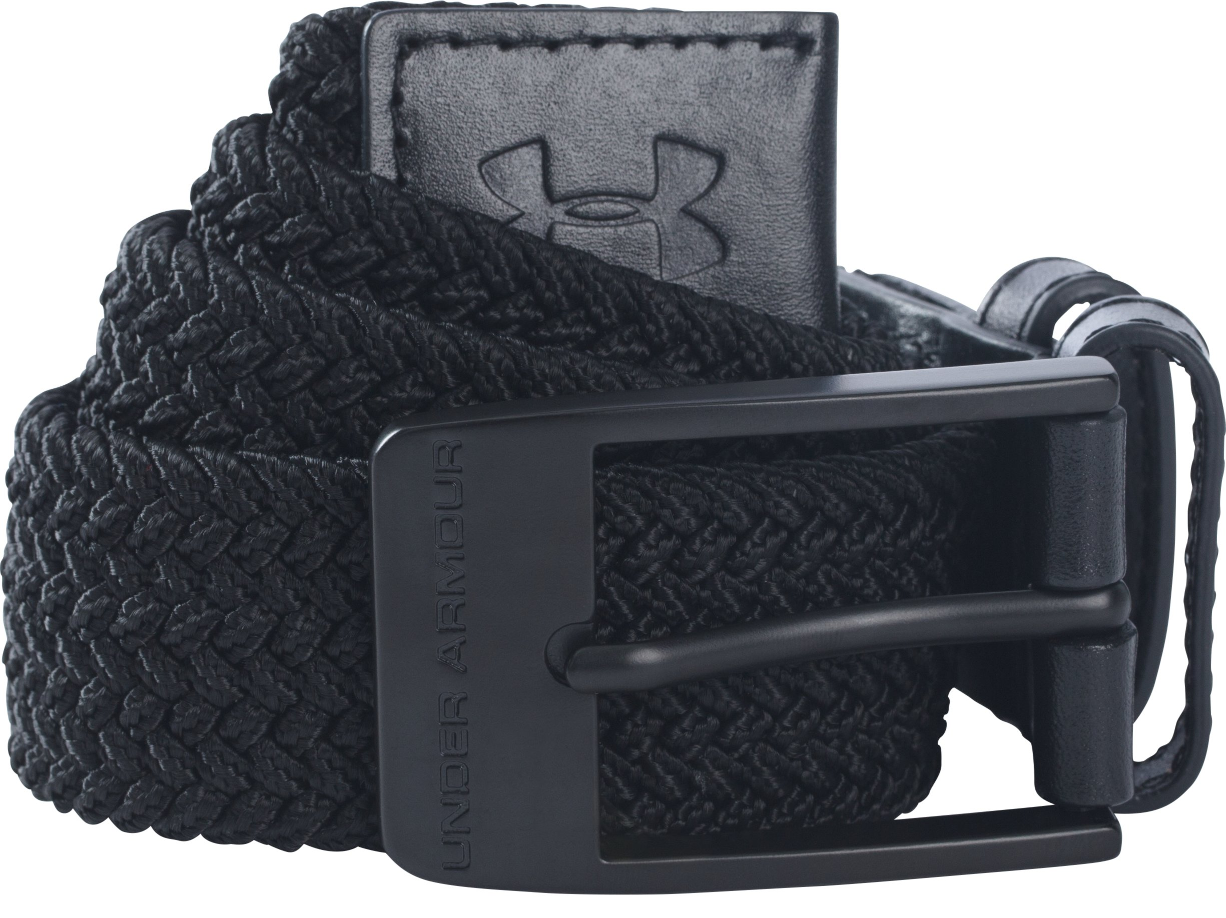 Men's UA Braided Belt, Black ,