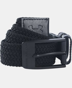 Men's UA Braided Belt  2 Colors $44.99