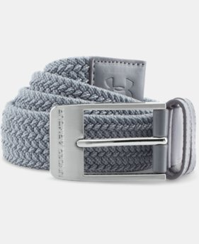 Men's UA Braided Belt  1 Color $29.99