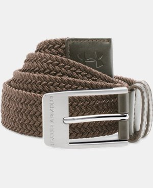New Arrival  Men's UA Braided Belt  1 Color $44.99