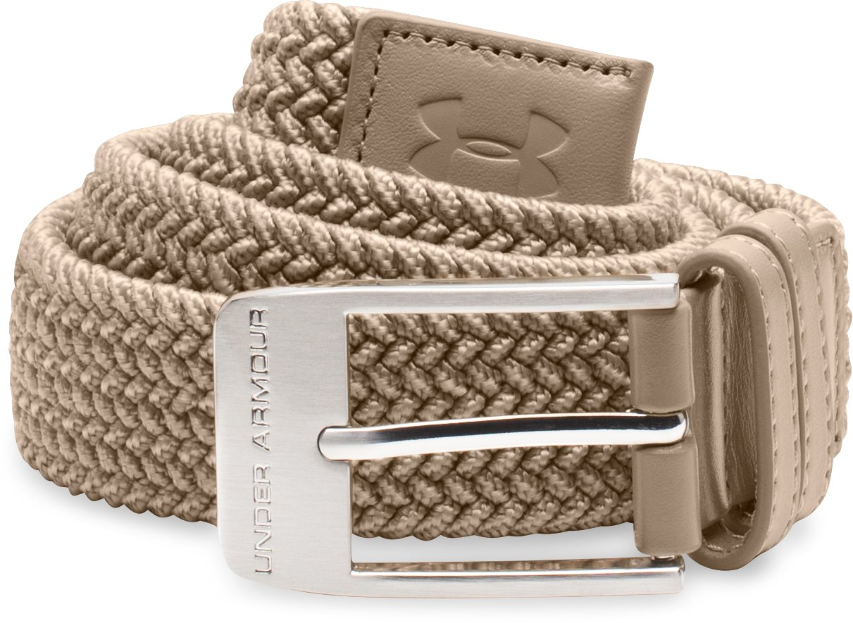 Men's UA Braided Belt, Dune, undefined