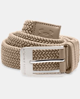 Best Seller Men's UA Braided Belt  3 Colors $39.99