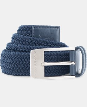 Men's UA Braided Belt  2  Colors Available $23.99 to $29.99