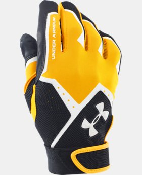 Men's UA Clean-Up VI Batting Gloves LIMITED TIME: FREE U.S. SHIPPING 1 Color $24.99