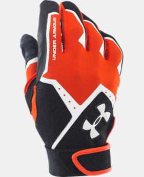 Men's UA Clean-Up VI Batting Gloves  9 Colors $24.99