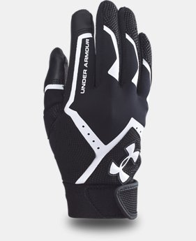 New Arrival  Boys' UA Clean-Up VI Batting Gloves LIMITED TIME: FREE SHIPPING 4 Colors $24.99