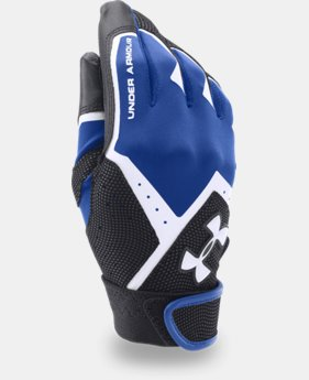 Boys' UA Clean-Up VI Batting Gloves  2 Colors $11.24