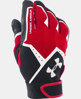 Boys' UA Clean-Up VI Batting Gloves