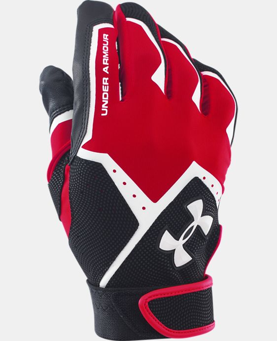 Best Seller Boys' UA Clean-Up VI Batting Gloves LIMITED TIME: FREE U.S. SHIPPING 1 Color $19.99