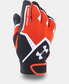 Boys' UA Clean-Up VI Batting Gloves  9 Colors $11.24