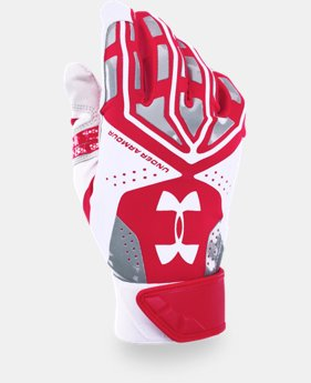 Men's UA Motive Batting Gloves  1 Color $17.99